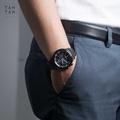 Đồng Hồ Citizen CA4035-57E Nam Eco-Drive Chronograph Lịch Ngày 44mm