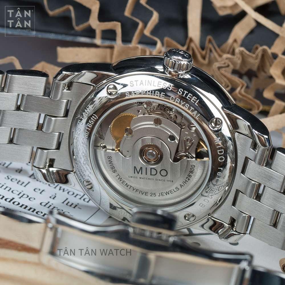 Đồng Hồ Mido M8600.4.13.1 Nam Máy Cơ Kính Sapphire 38mm