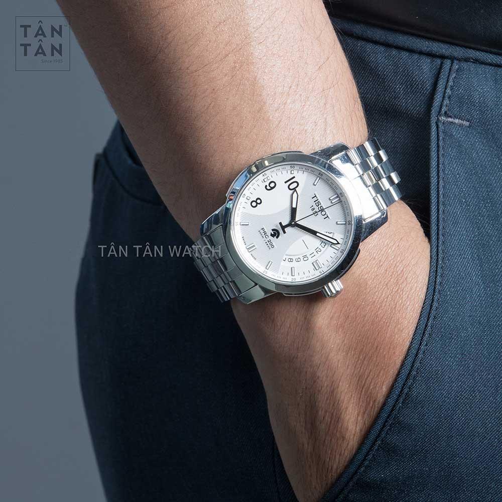 Đồng Hồ Tissot T014.421.11.037.00 Nam Kính Sapphire Máy Auto-Quartz 20ATM 39mm