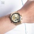 Đồng Hồ Citizen JM5462-56P Nam Bảng Điện Tử Chronograph Lịch Thứ Ngày 44mm