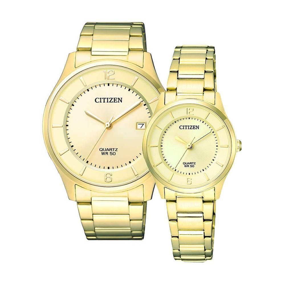 Citizen - Quartz(PIN) BD0043-83P (Nam) - ER0203-85P (Nữ)