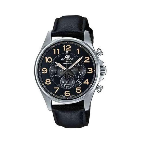 Đồng Hồ Casio EFB-508JL-1ADR Nam Chronograph Kính Sapphire Lịch Ngày 49mm
