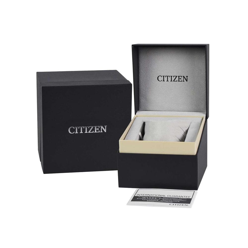 Đồng Hồ Citizen EM0863-53D Nữ Eco-Drive Đính Swarovski Xà Cừ 25mm