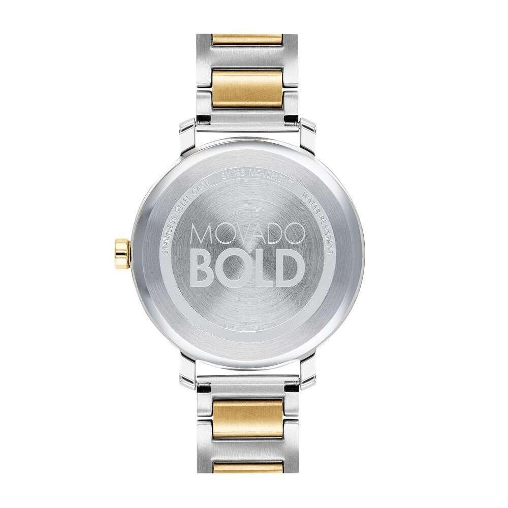 Đồng Hồ Movado BOLD 3600651 Nữ Dây Demi Vàng 34mm