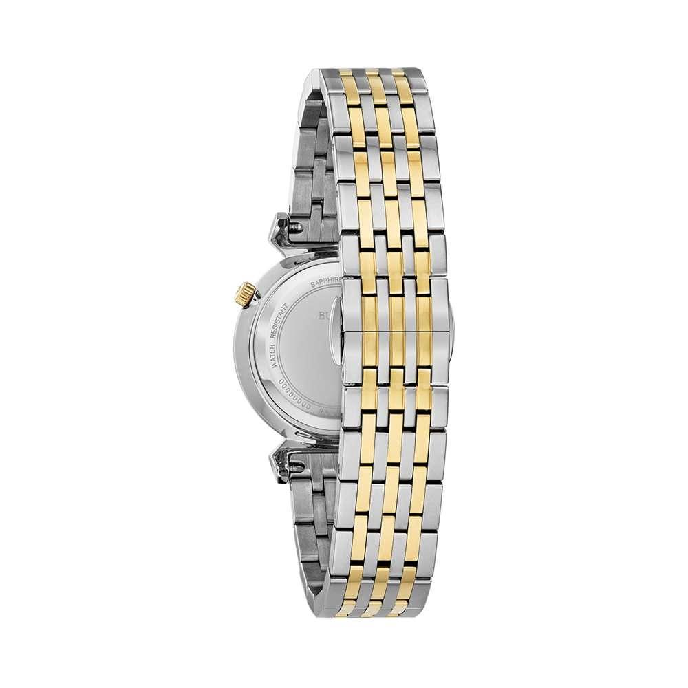 Đồng Hồ Bulova 98L264 Nữ Dây Demi Kính Sapphire 30mm