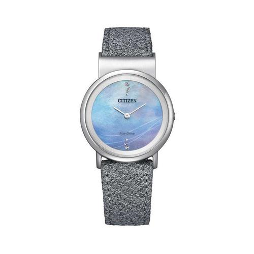 Đồng Hồ Citizen EG7071-03L Nữ Eco-Drive Titanium Kính Sapphire 31mm