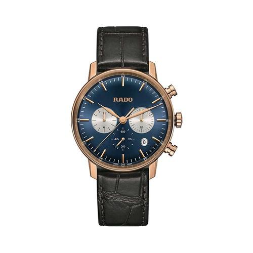 Đồng Hồ Rado R22911205 Nam Máy Cơ Chronograph Kính Sapphire Lịch Ngày 42mm