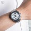 Đồng hồ Citizen CA0120-51A đeo trên tay