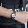 Đồng hồ Citizen FE2045-57P đeo trên tay