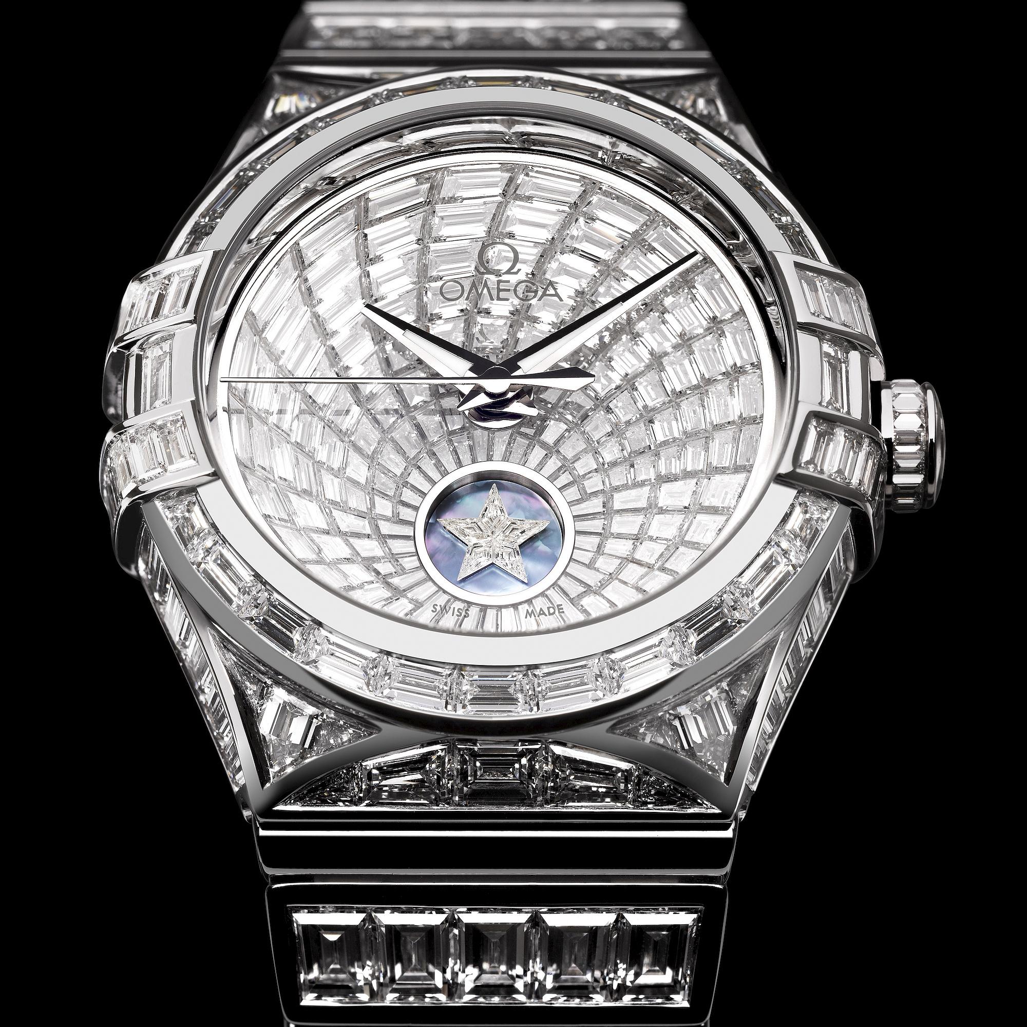 đồng hồ Omega Constellation Baguette
