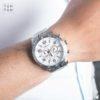 Đồng hồ Citizen AN8130-53A đeo trên tay