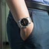 Đồng hồ Citizen BI5034-51E đeo trên tay