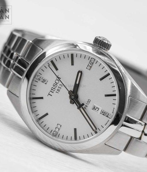 Đồng hồ Tissot T101.210.11.036.00 mặt trước