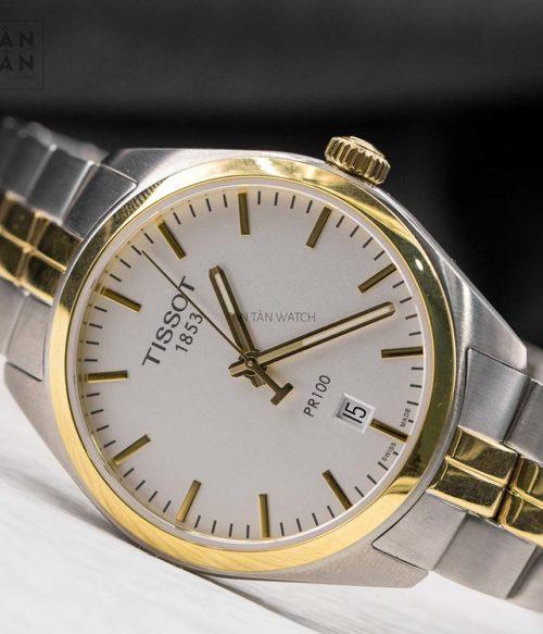 Đồng hồ Tissot T101.410.22.031.00 mặt trước