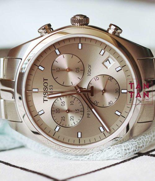 Đồng hồ Tissot T101.417.11.071.00 mặt trước