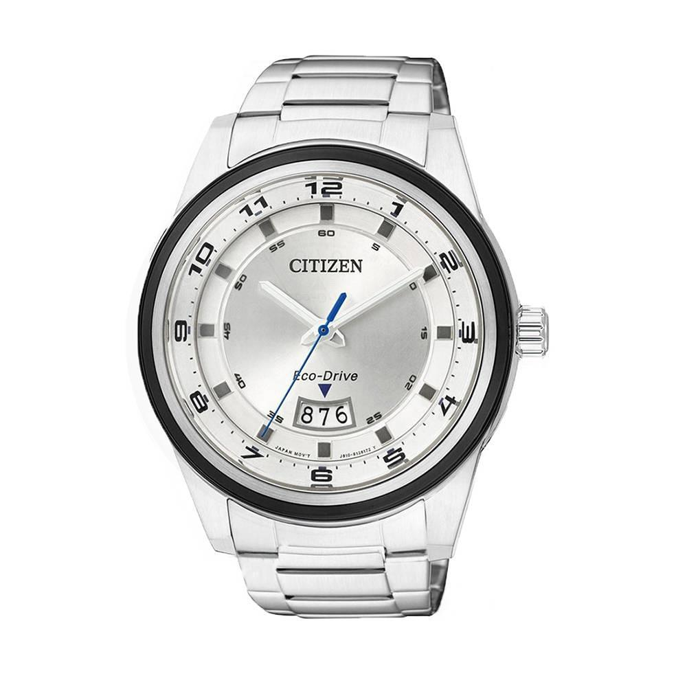 Đồng Hồ Citizen AW1274-63A Nam Eco-Drive Lịch Ngày 43mm