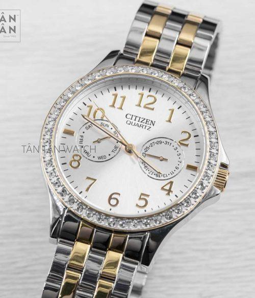 Đồng hồ Citizen ED8114-57A mặt trước