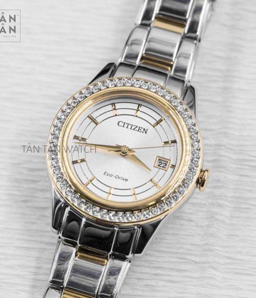 Đồng hồ Citizen FE1124-82A mặt trước