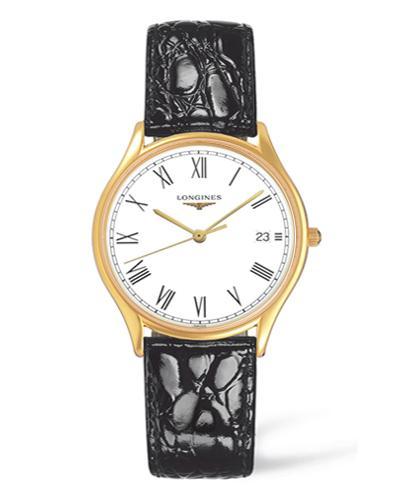 đồng hồ Longines dây da: Longines Lyre