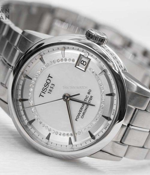 Đồng hồ Tissot T086.208.11.116.00 mặt trước