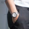 Đồng hồ Citizen AW1490-84A đeo trên tay