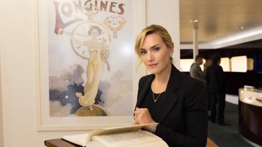 Longines chào mừng Kate Winslet đến tham quan