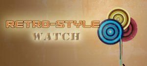 Đồng hồ Retro-styled