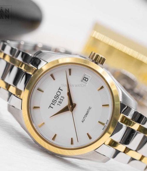 Đồng hồ Tissot T035.207.22.011.00 mặt trước