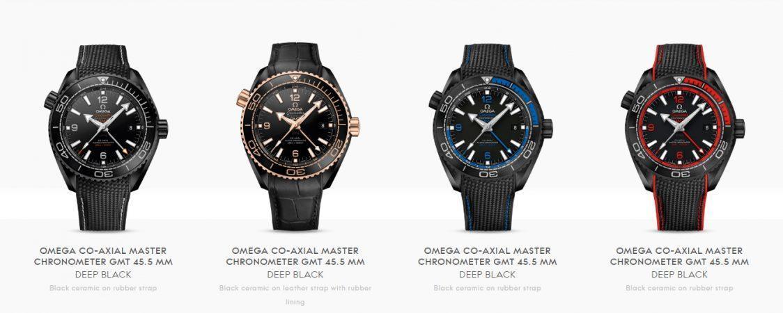 đồng hồ Omega Planet Ocean Deep Black
