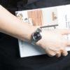 Đồng hồ Citizen EW2230-56E đeo trên tay