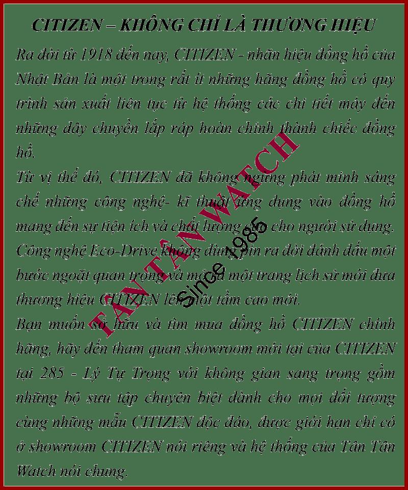 CITIZEN - Quartz(PIN) BD0043-08B (Nam) - ER0203-00B (Nữ) 1