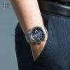 Đồng hồ Citizen AT9070-51L đeo trên tay