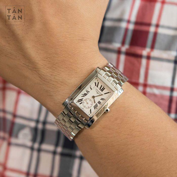 Đồng hồ Longines L5.655.4.71.6 đeo trên tay