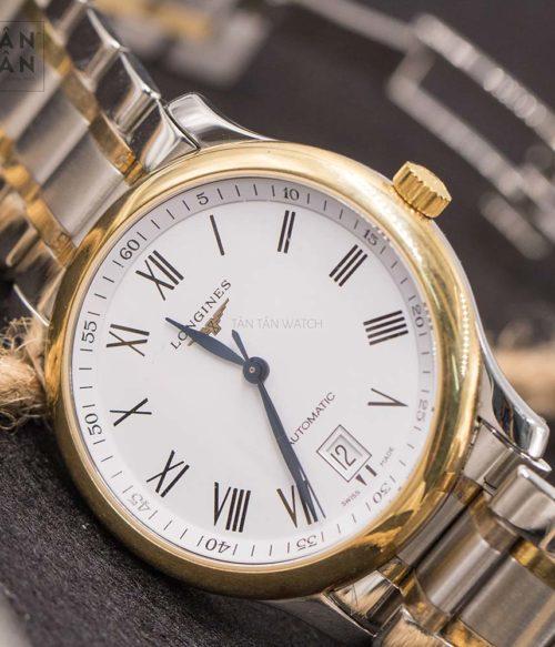 đồng hồ Longines L2.628.5.11.7 mặt trước