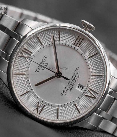 Đồng hồ Tissot T099.408.11.038.00 mặt trước
