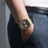 Đồng hồ Citizen AN8132-58E đeo trên tay