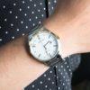 Đồng hồ Citizen BM7354-85A đeo trên tay