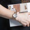 Đồng hồ Citizen EM0433-87D đeo trên tay