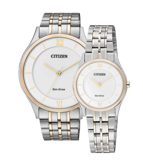 CITIZEN – Eco-Drive AR0074-51A (Nam) – EG3224-57A (Nữ)