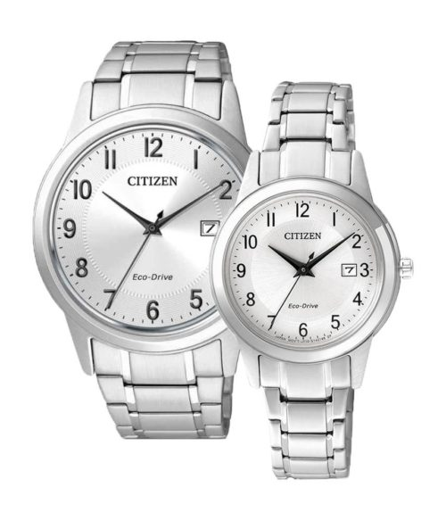 CITIZEN – Eco-Drive AW1231-58B (Nam) – FE1081-59B (Nữ)