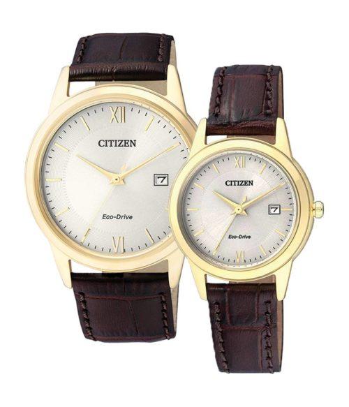CITIZEN – Eco-Drive AW1232-12A (Nam) – FE1082-13A (Nữ)