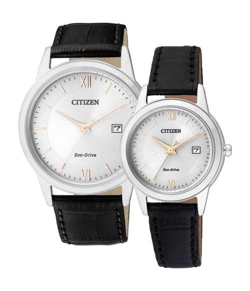 CITIZEN – Eco-Drive AW1236-11A (Nam) – FE1086-12A (Nữ)