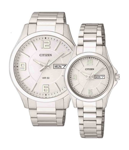 CITIZEN – Quartz(PIN) BF2001-55A (Nam) – EQ0591-56A (Nữ)