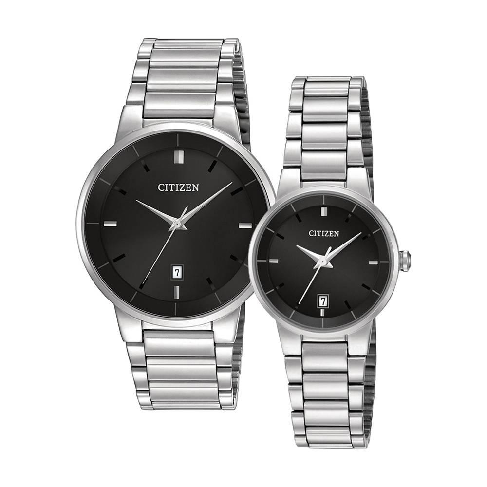 CITIZEN – Quartz(PIN) BI5010-59E (Nam) – EU6010-53E(Nữ)