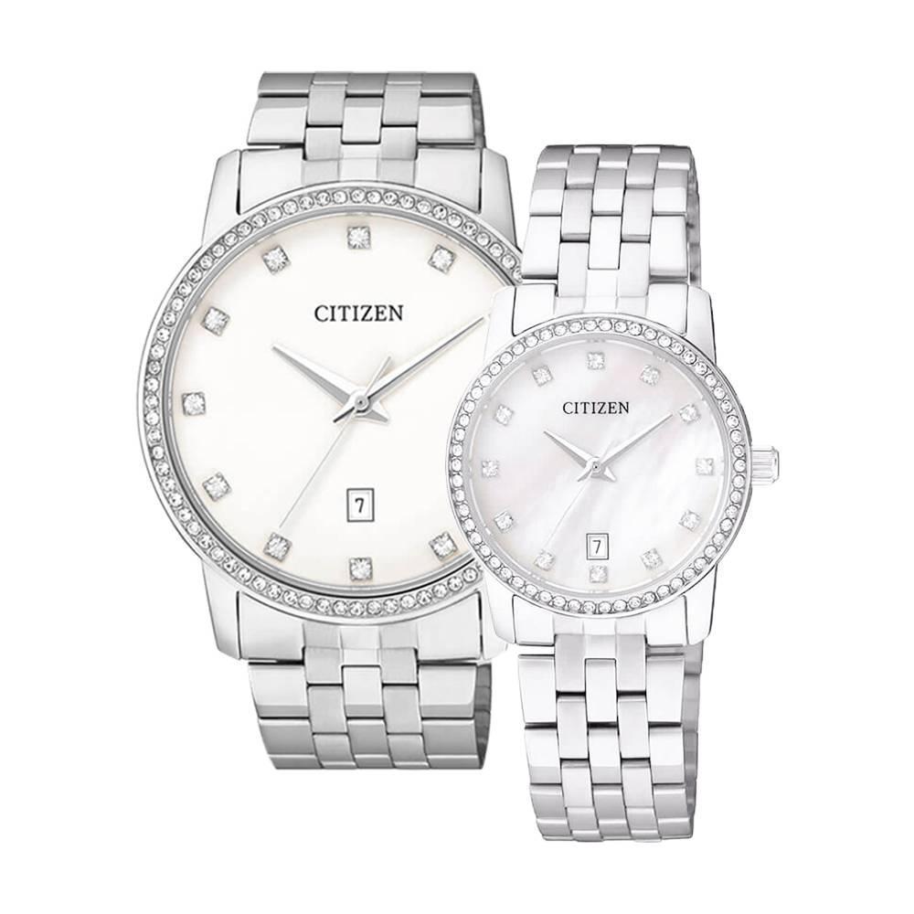 CITIZEN – Quartz(PIN) BI5030-51A (Nam) – EU6030-56D (Nữ)