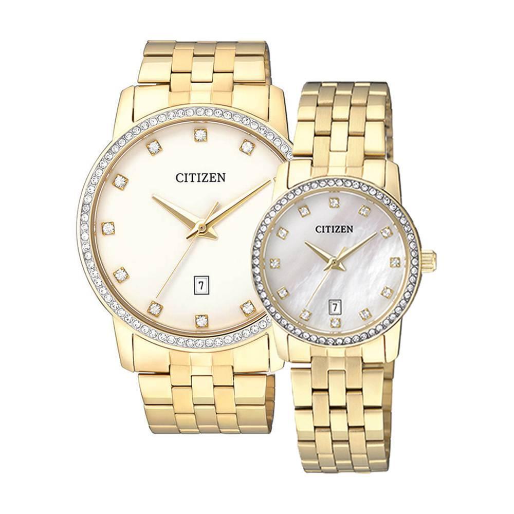 Citizen – Quartz(PIN) BI5032-56A (Nam) – EU6032-51D (Nữ)