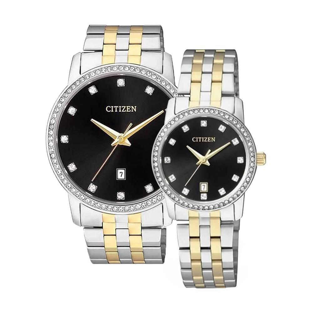 CITIZEN – Quartz(PIN) BI5034-51E (Nam) – EU6034-55E (Nữ)