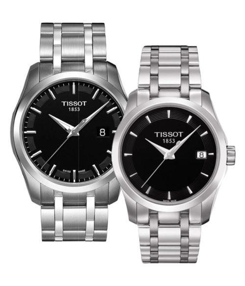 TISSOT – Quartz(PIN) T035.410.11.051.00(Nam) T035.210.11.051.00(Nữ)