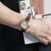 Đồng hồ Citizen FE1083-02A đeo trên tay