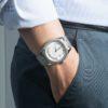 Đồng hồ Tissot T108.408.11.037.00 đeo trên tay